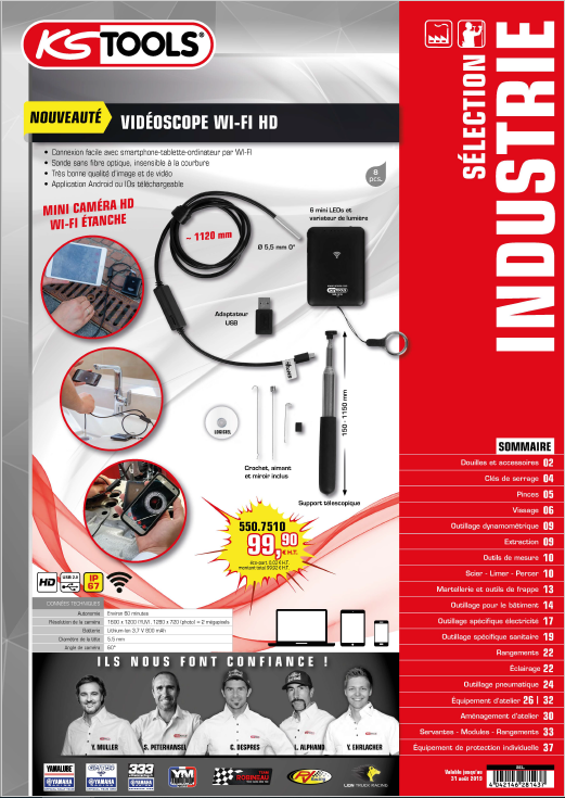 KS Tools Selection industrie 2019