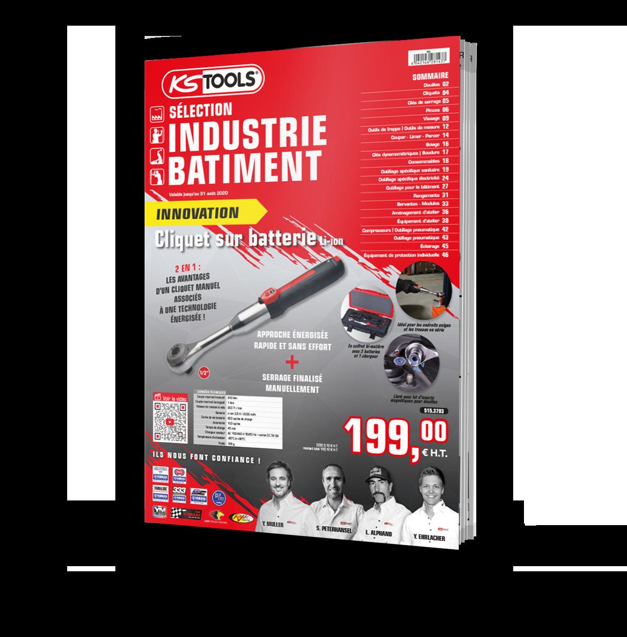 Sélection outils KS TOOLS Industrie 2020